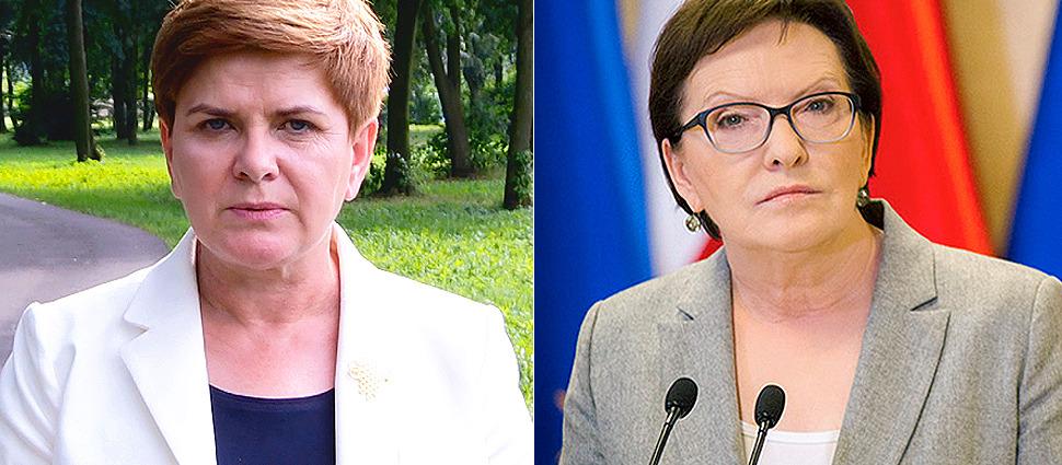 """Szydło traci, Kopacz zyskuje.  Najnowszy sondaż dla """"Faktów"""" TVN i TVN24"""