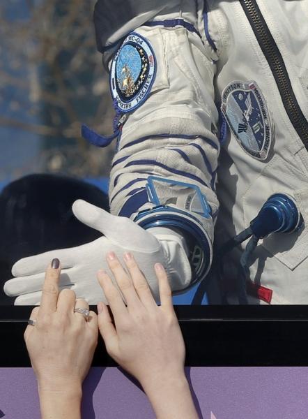 Pożegnanie astronautów przed wyruszeniem na ISS (NASA)