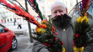 Krakowskie pełne palemek