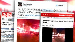 Ukraińskie media: kibice Legii wdali się w bójki w Kijowie i Lwowie