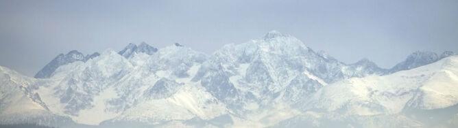 Świeża porcja śniegu w Tatrach