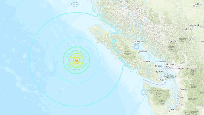 Trzy silne trzęsienia w niespełna godzinę