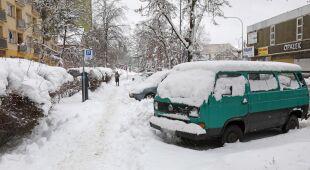 Sytuacja na Podlasiu po obfitych opadach śniegu
