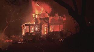 Pożary w zachodniej części Stanów Zjednoczonych