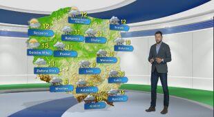 Prognoza pogody na poniedziałek 12.10